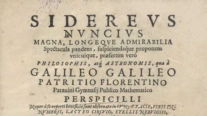 ¿Qué es el 'Sidereus Nuncius', el libro robado de la Biblioteca Nacional?