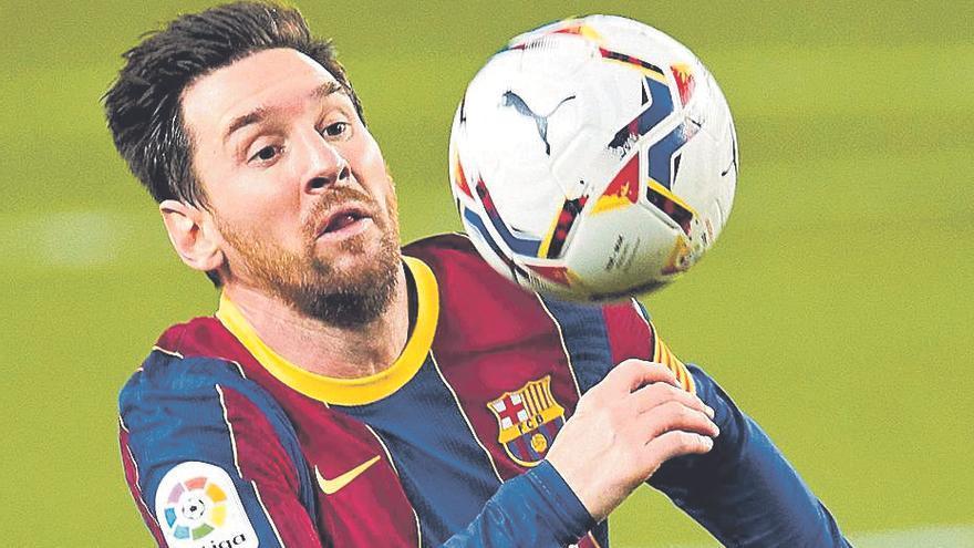 Messi decide y Fati se rompe