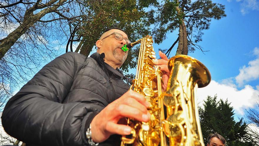 O Castriño suena a música de saxofón