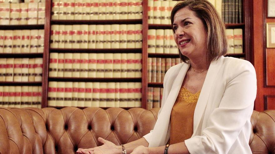 Cs asegura que Evelyn Alonso no seguirá como asesora del partido en el Parlamento de Canarias