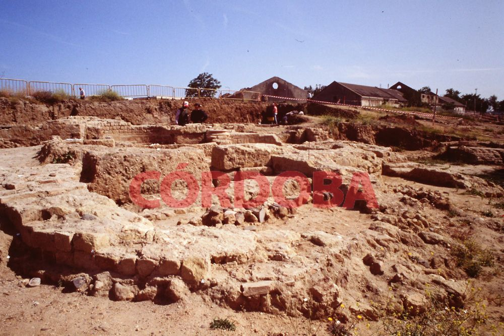 1992 El yacimiento de Cercadilla al descubierto