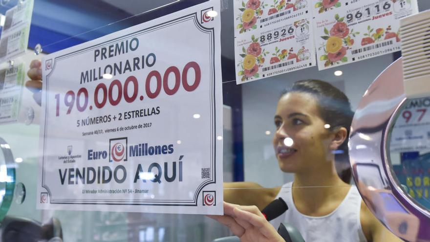 La Primitiva i l'EuroMillones, a la venda la setmana vinent