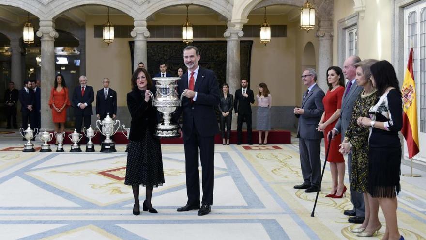 La Fundación Trinidad Alfonso y Juan Mata reciben el Premio Nacional del Deporte