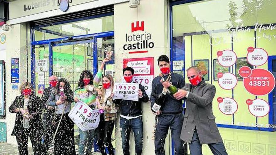 La suerte se alía con Loterías Castillo en el Sorteo del Niño