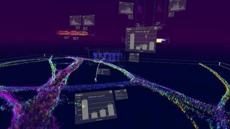 """La realidad virtual permite """"caminar"""" dentro de las células"""