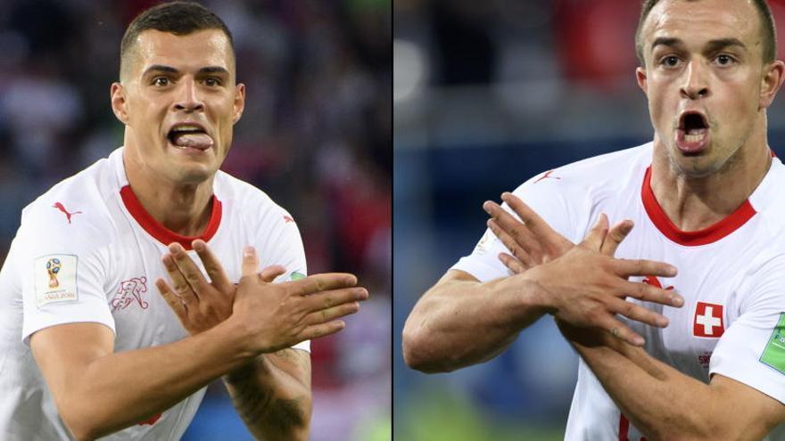 La FIFA investiga la celebración de Shaqiri y Xhaka
