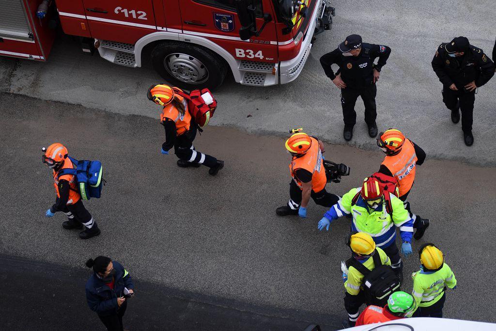 La UDEV de la Policía Nacional organiza una redada en Espinardo