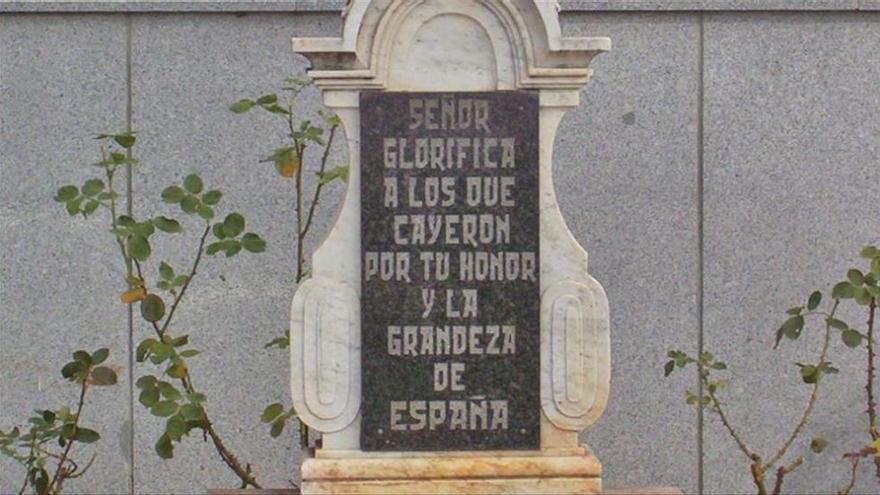 El Gobierno niega que se celebrase un acto franquista en Dos Torres