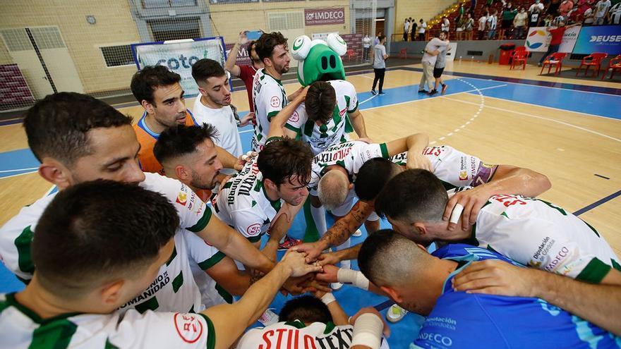 El Córdoba Futsal y su carrera de finales para crecer en Primera