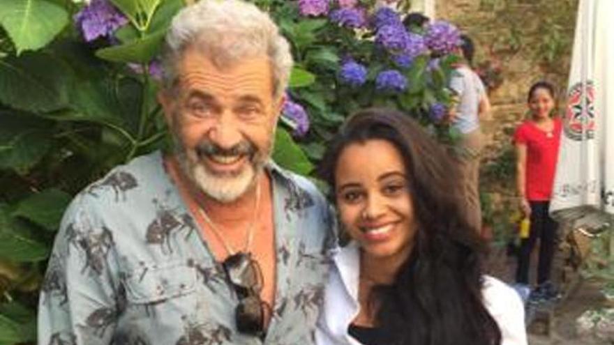 Mel Gibson, de gira por el norte de España
