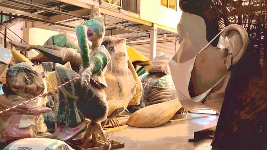 La covid pone en jaque de nuevo carnavales, fallas y Semana Santa