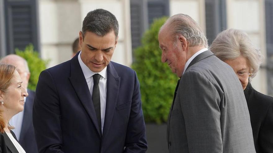 Rechazada la petición para que Sánchez hable en el Congreso sobre Juan Carlos I