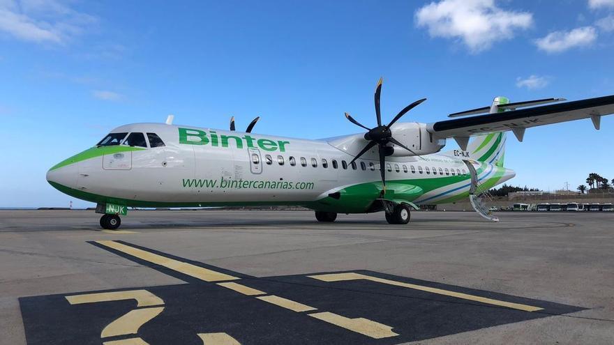 Binter reforzará con 13.800 plazas los vuelos en Canarias durante la Semana Santa
