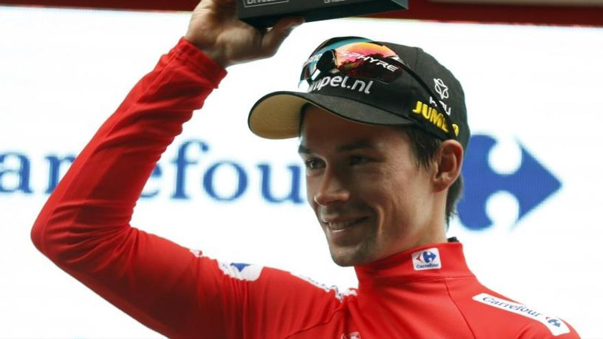 Clasificación de la 12ª etapa y general de la Vuelta a España