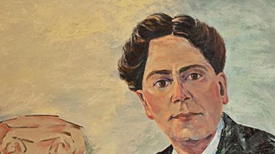 Una exposición reúne retratos de Tomás Morales por su centenario