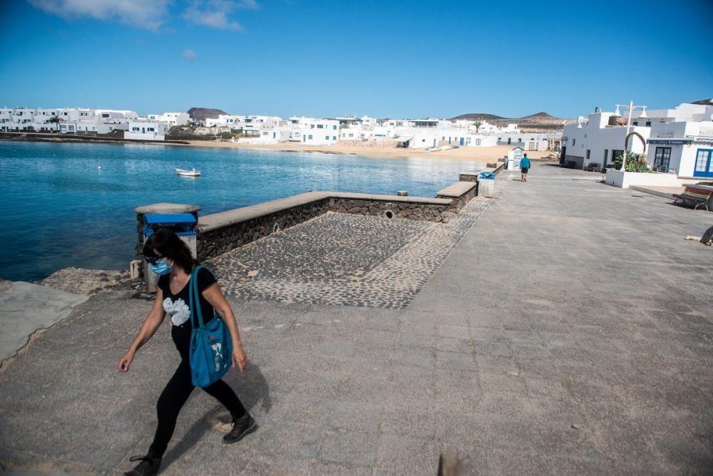 La isla de La Graciosa comienza la fase 1 de la ...