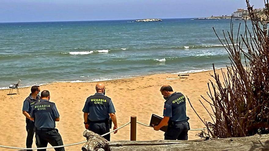 Mor un home de 86 anys ofegat a la platja del Rec del Molí de l'Escala