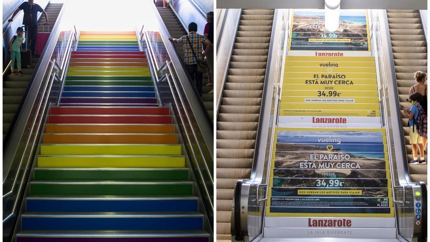 ¿Qué te parece la sustitución de la bandera LGTBI por publicidad en el TRAM de Luceros?