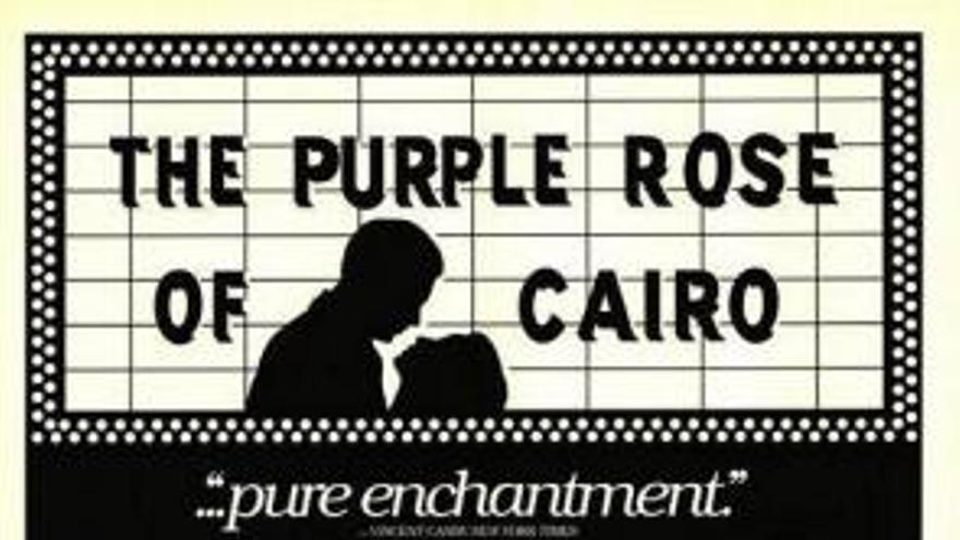 La rosa púrpura de El Cairo