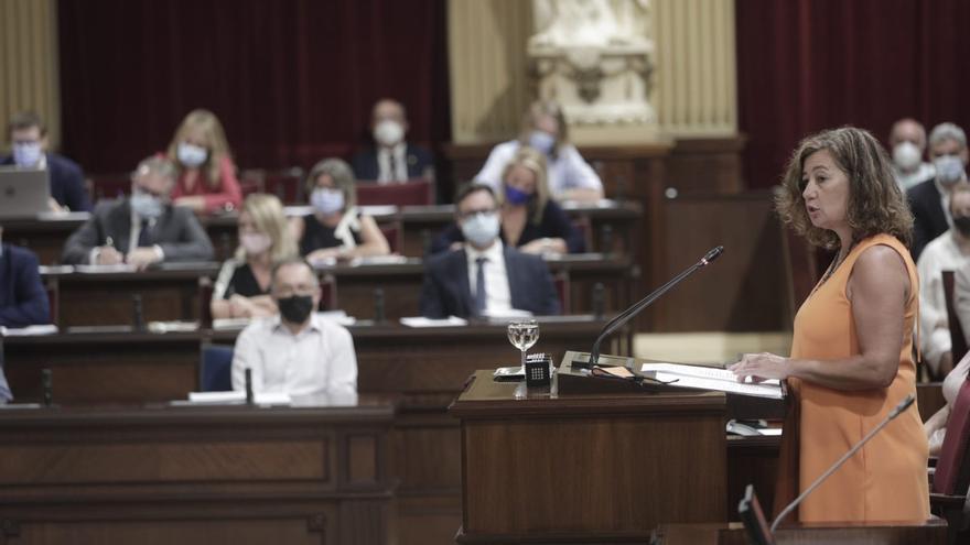"""Los grupos políticos califican el discurso de Armengol de """"previsible y poco reivindicativo con Madrid"""""""