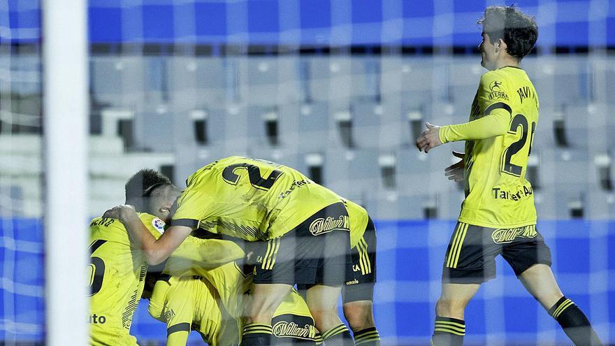 Al Oviedo le gusta viajar: está entre los diez mejores de la Liga cuando juega a domicilio