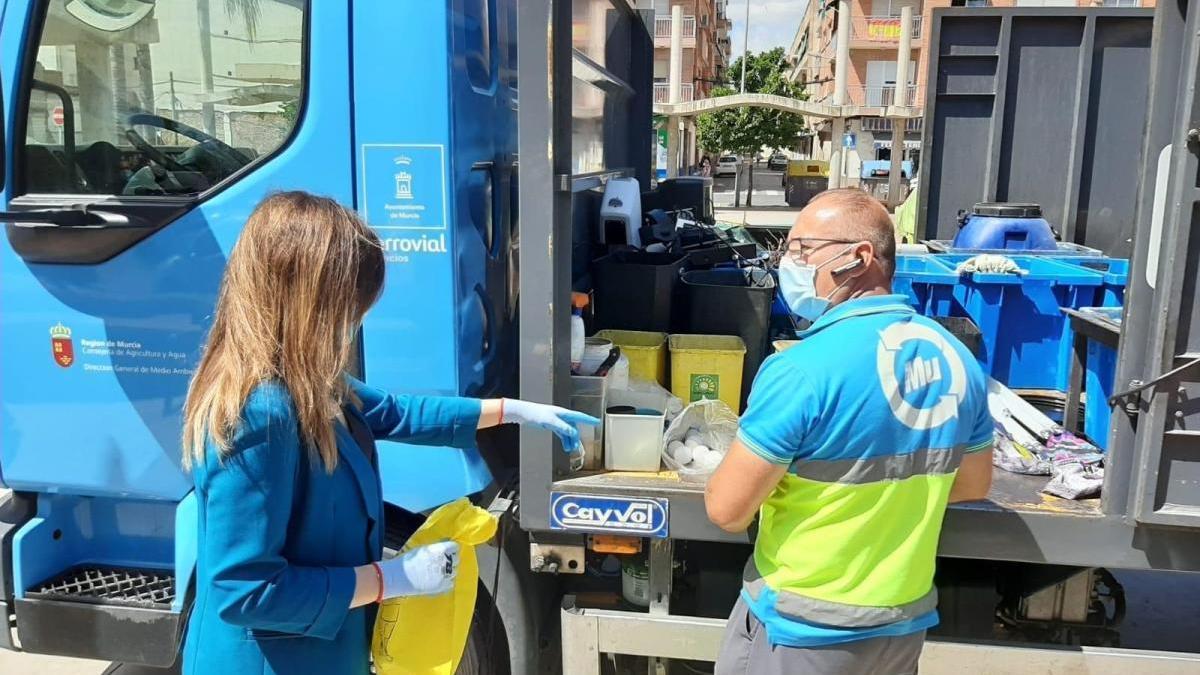 Vuelven a abrir los ecopuntos de Murcia.