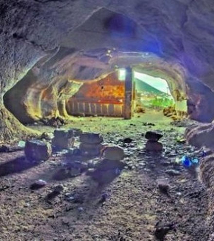 Las cuevas pobres de Agáldar