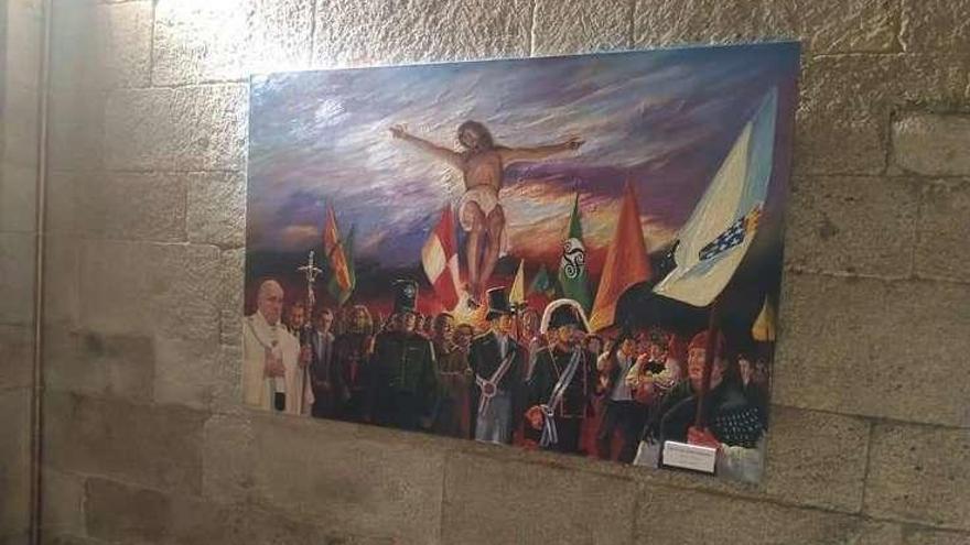 """El """"Cristo Universal"""" de Xavier Lemos viaja a Lugo"""