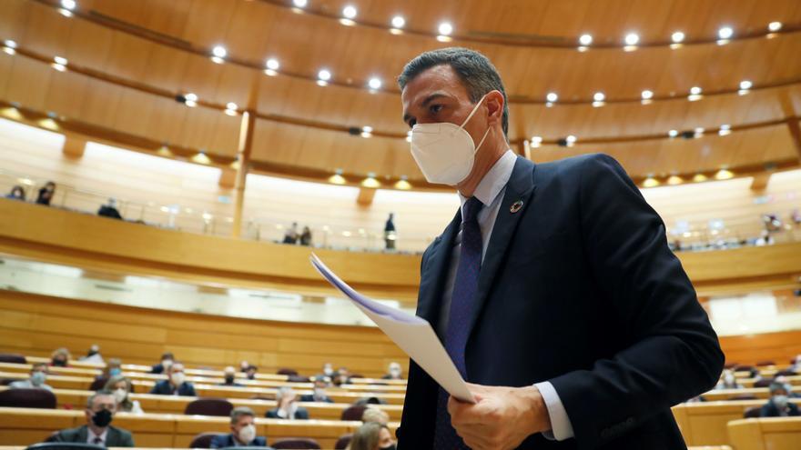 Sánchez anuncia que el 80% de los mayores de 65 años de residencias está vacunado