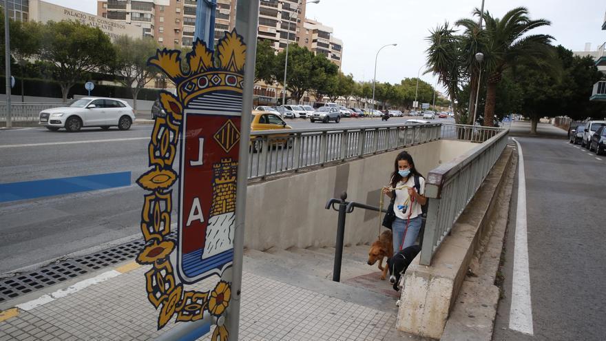 Un juez da al bipartito de Alicante tres meses para que arregle un paso subterráneo inaccesible