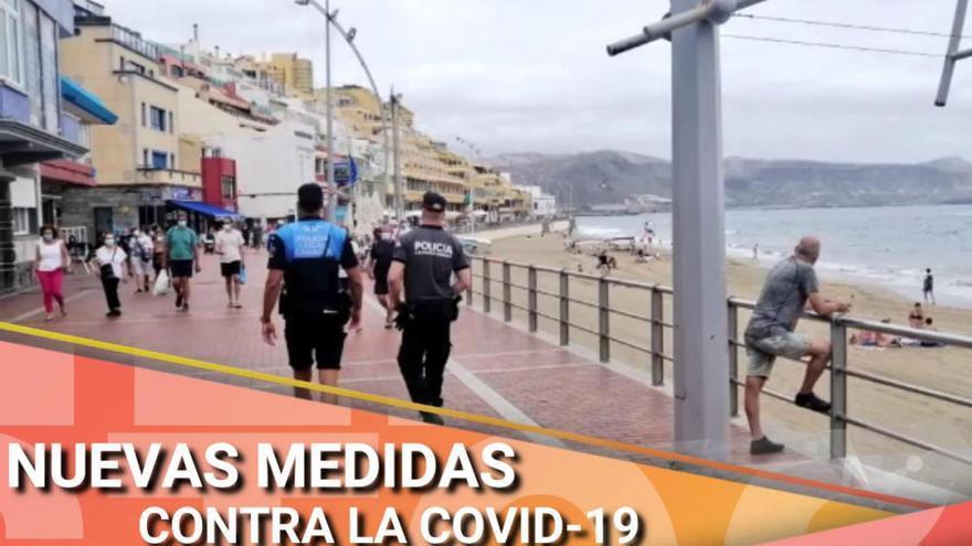 Las nueva medidas de Las Palmas de Gran Canaria para frenar la Covid-19