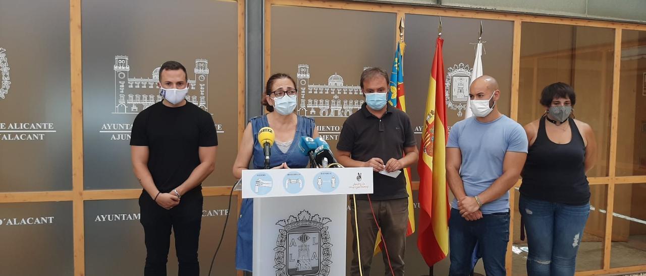 Los ediles de izquierda en respuesta a las palabras de Luis Barcala y Mari Carmen Sánchez