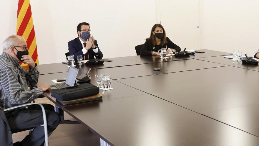 El Govern asegura que el Estado está atacando a las instituciones catalanas