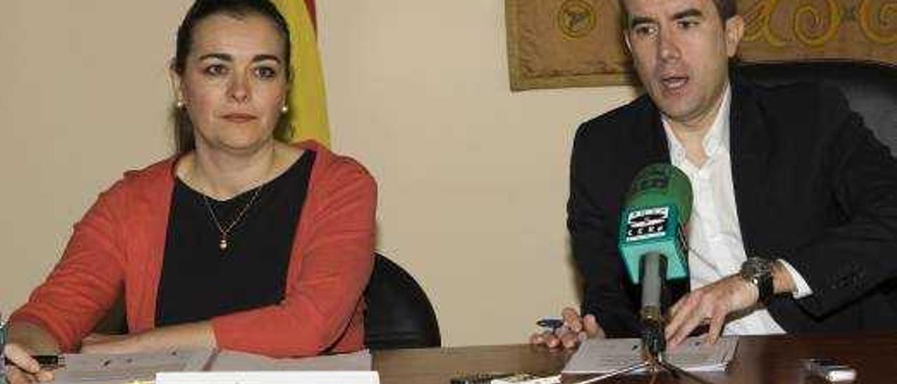 Estefanía Sanz y Toño Carratalá, en una foto de archivo.