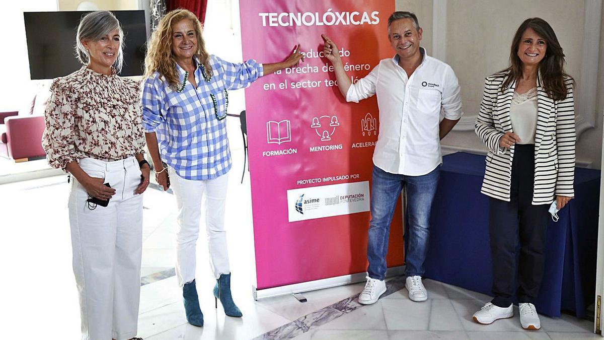 El proyecto se presentó ayer en la sede de Asime.  | // RAFA ESTÉVEZ