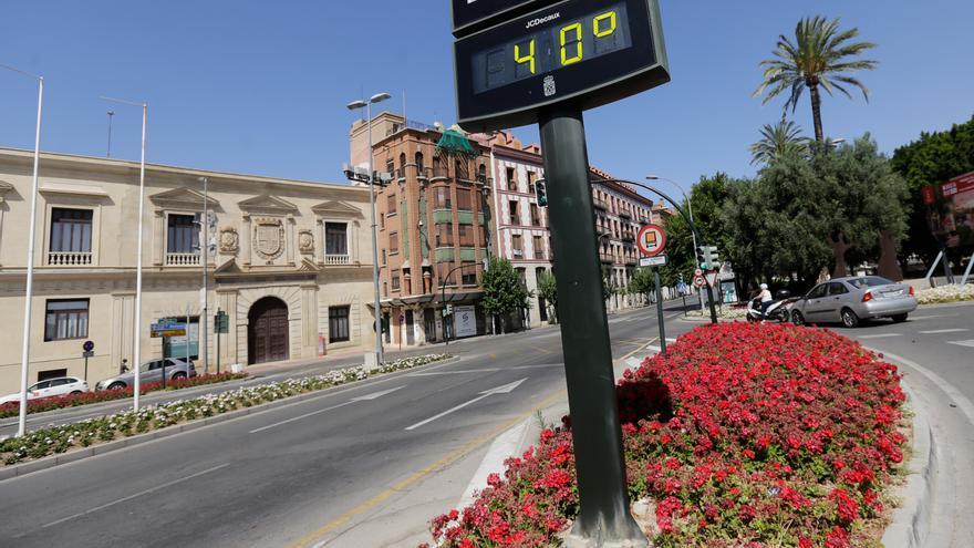 La Región alcanzará el domingo máximas cercanas a 40 grados