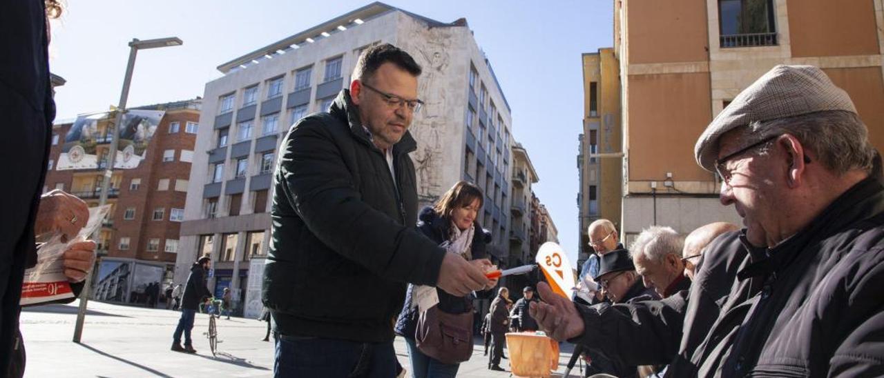 """Ciudadanos confía en sacar el tercer diputado que """"está intentando pelear el bipartidismo"""""""