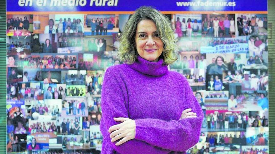 """Teresa López: """"El reto en el campo es garantizar igual acceso a los servicios"""""""