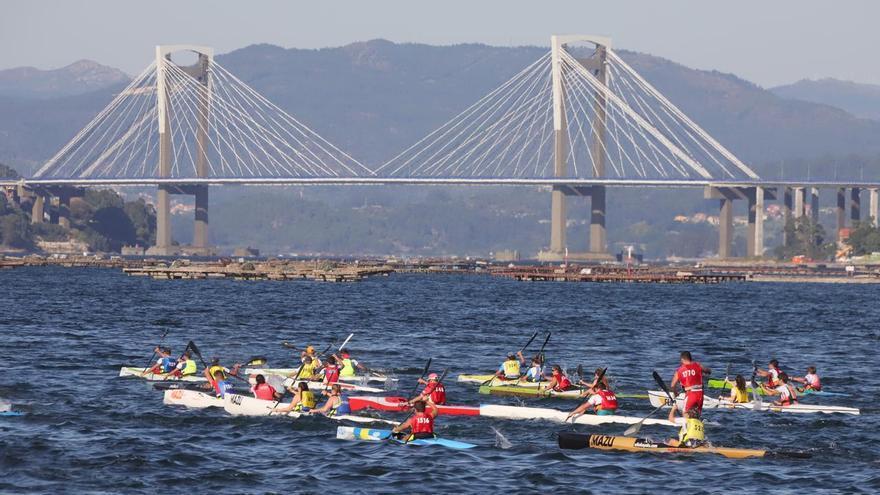 El Trofeo Internacional Concello de Vigo de Kayak de Mar inaugura la Semana Abanca 2021