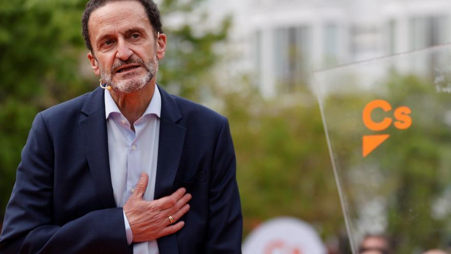 """Edmundo Bal: """"No quiero que estén Podemos, ni 'Más Podemos', ni Vox en el Gobierno"""""""