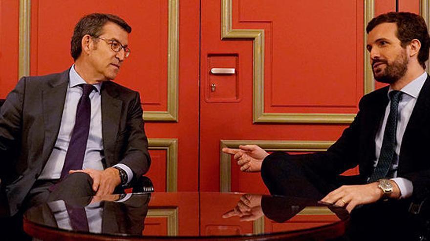 """Casado """"forzó"""" el pacto PP-Cs en el País Vasco con vistas a las próximas generales"""