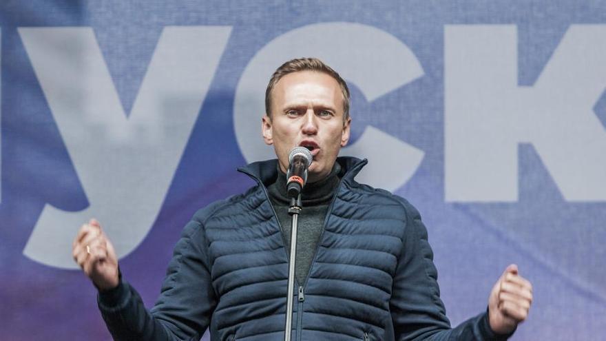 Protestas masivas en Rusia en apoyo a Navalni