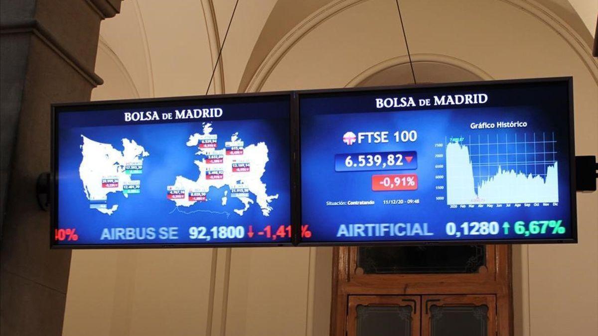 Las bolsas europeas acusan las malas expectativas económica