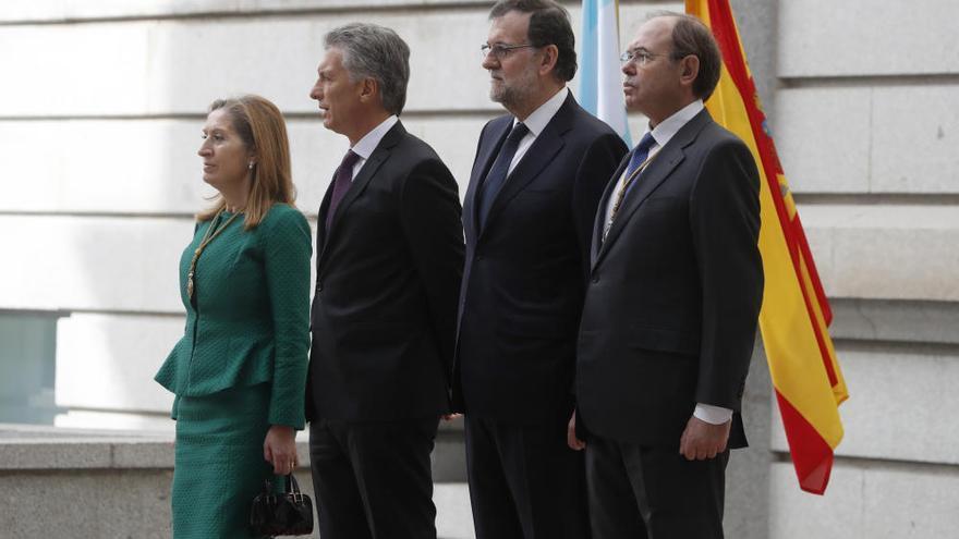 Visita oficial de Mauricio Macri a España