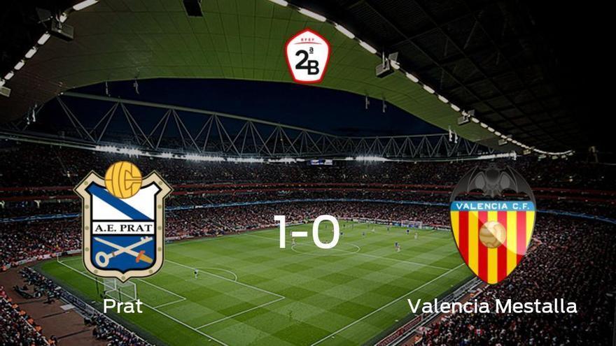 1-0: El Prat se impone al Valencia Mestalla en casa