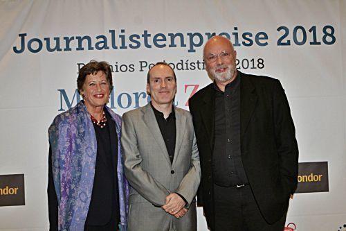Die Mallorca Zeitung hat zum ersten Mal einen Journalistenpreis für herausragende Mallorca-Berichterstattung verliehen.