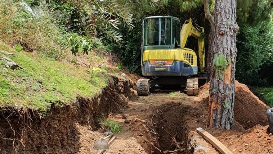 Hidralia mejora un tramo de la red de saneamiento en Añoreta