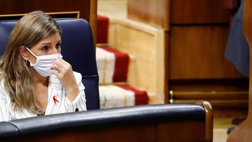 Díaz dice que los PGE darán continuidad a los ERTE