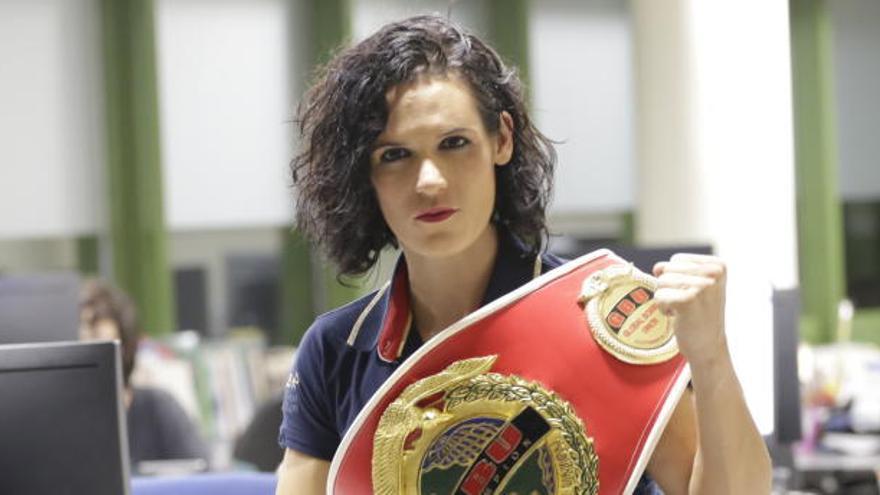 Mary Romero pondrá en juego su título europeo el 11 de septiembre