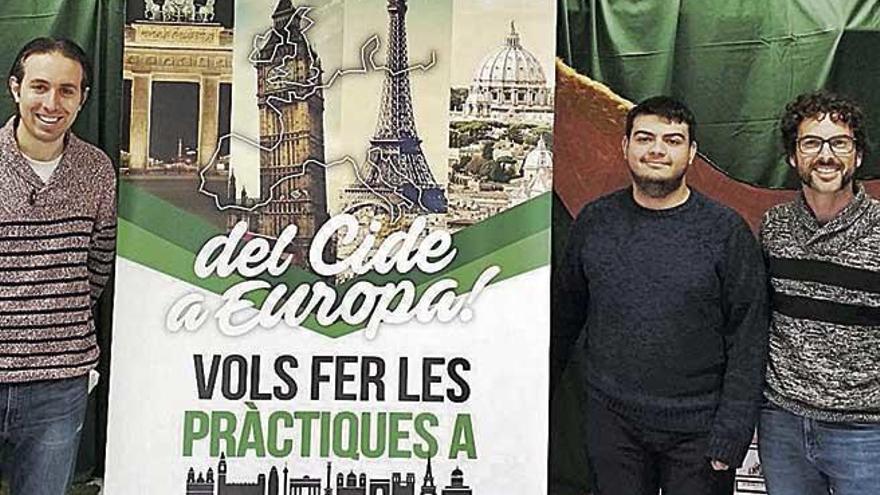 Alumnes del CIDE, a Europa amb Erasmus+
